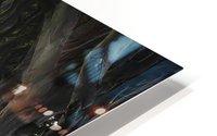 DARK HEDGES HD Metal print