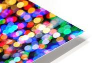 bokeh multicolor HD Metal print