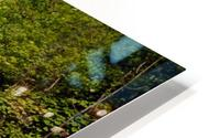 Idyllic Waterfall at Plitvice Lakes HD Metal print