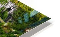 Waterfall Paradise Plitvice Lakes in Croatia HD Metal print