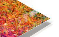Fluid Colors G249 HD Metal print