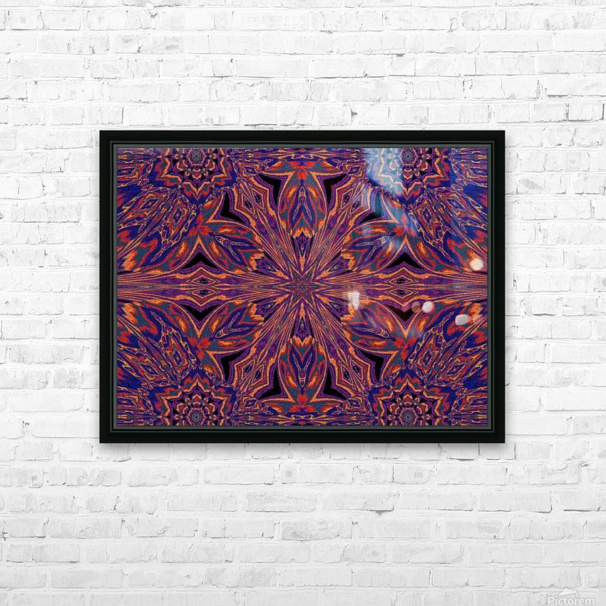 Psychedelic Jasmine 4 HD Sublimation Metal print with Decorating Float Frame (BOX)