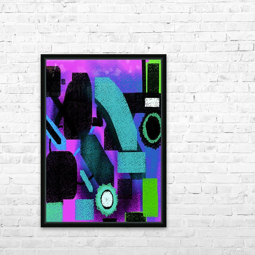 Shapes HD Sublimation Metal print with Decorating Float Frame (BOX)