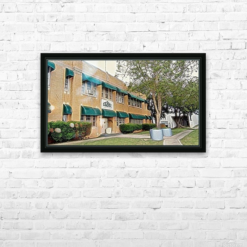 Jesus House OKC HD Sublimation Metal print with Decorating Float Frame (BOX)