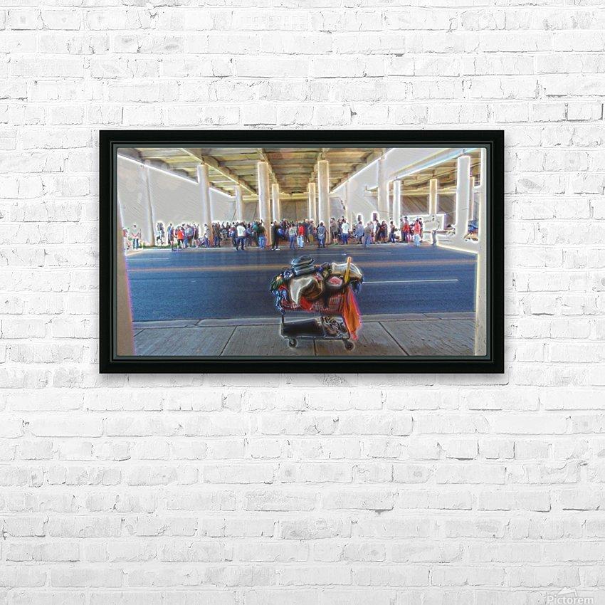 Fellowship- Church Under the Bridge- okc HD Sublimation Metal print with Decorating Float Frame (BOX)