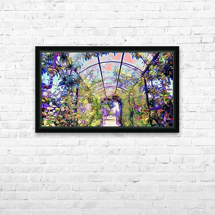 Homeless Alliance Pantry Garden. okc HD Sublimation Metal print with Decorating Float Frame (BOX)