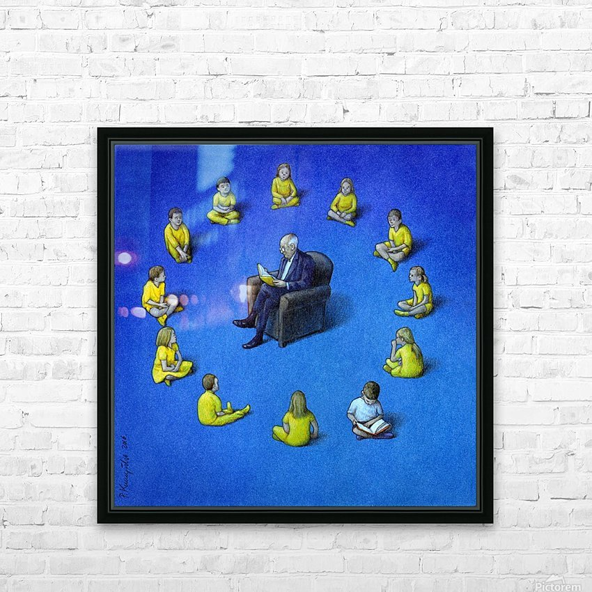 Brexit HD Sublimation Metal print with Decorating Float Frame (BOX)