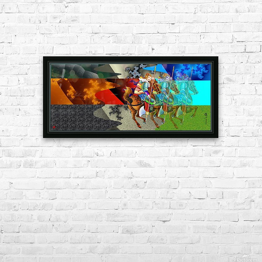 A Return thro' Space & Time HD Sublimation Metal print with Decorating Float Frame (BOX)