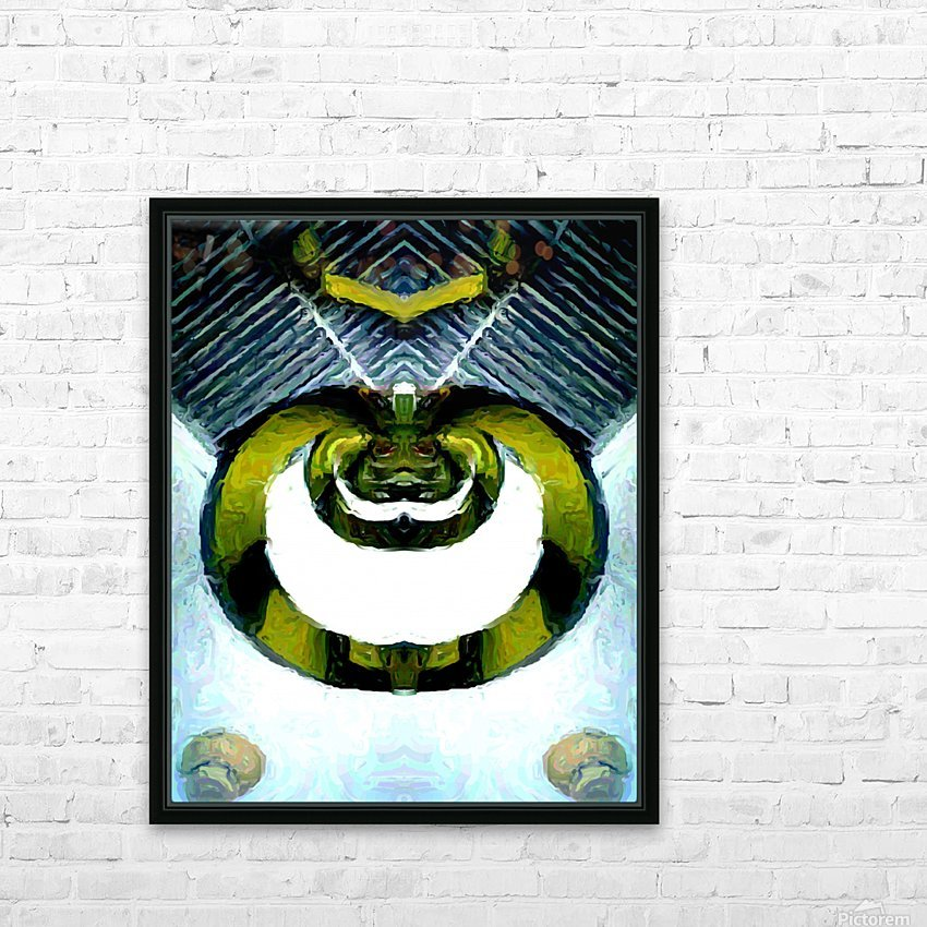 firserpent HD Sublimation Metal print with Decorating Float Frame (BOX)