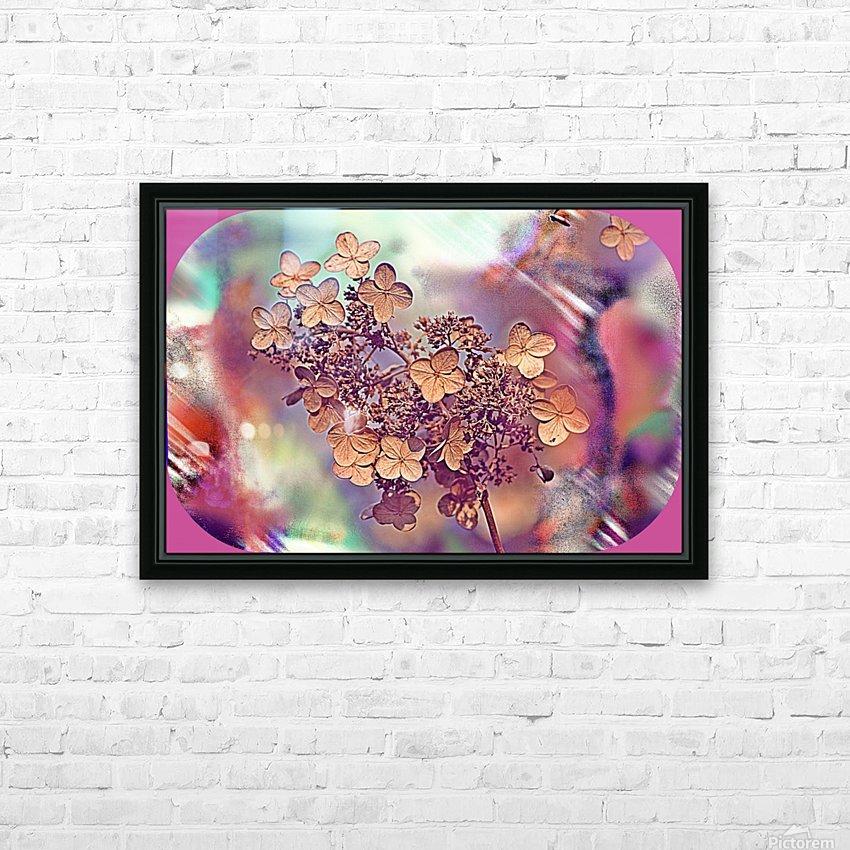 GoldLeaf HD Sublimation Metal print with Decorating Float Frame (BOX)