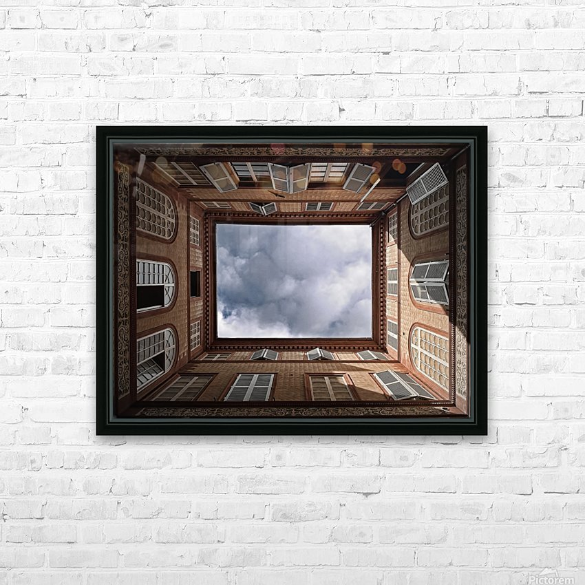 The Sky....... HD Sublimation Metal print with Decorating Float Frame (BOX)