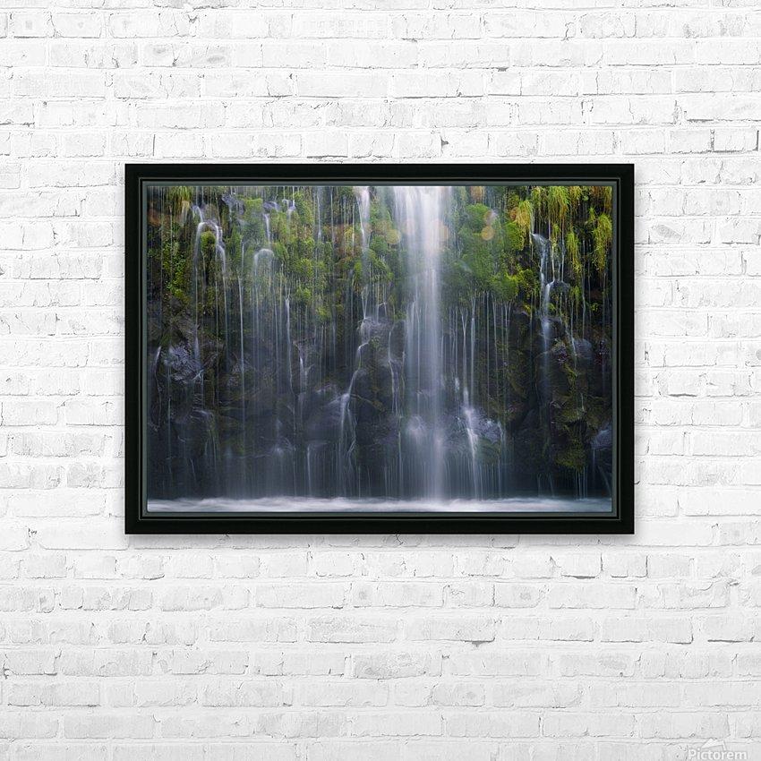 Magical retreat HD sublimation métal imprimé avec décoration flotteur cadre (boîte)