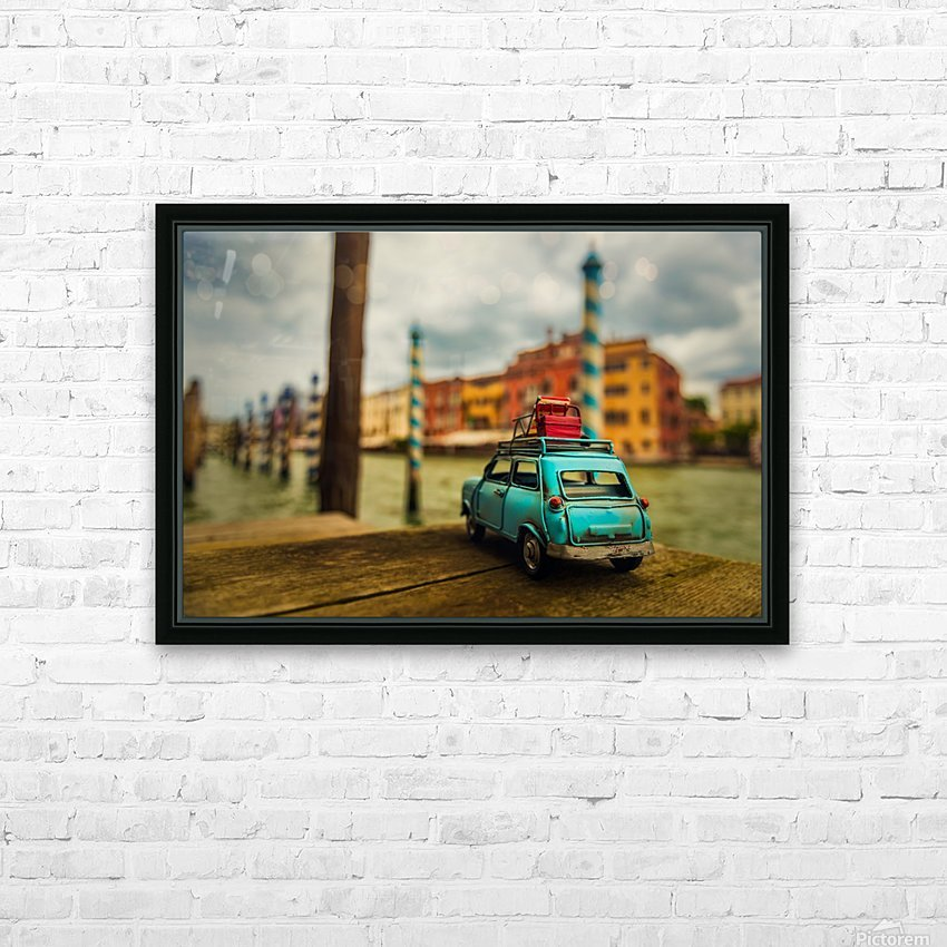Venice Stopped HD Sublimation Metal print with Decorating Float Frame (BOX)