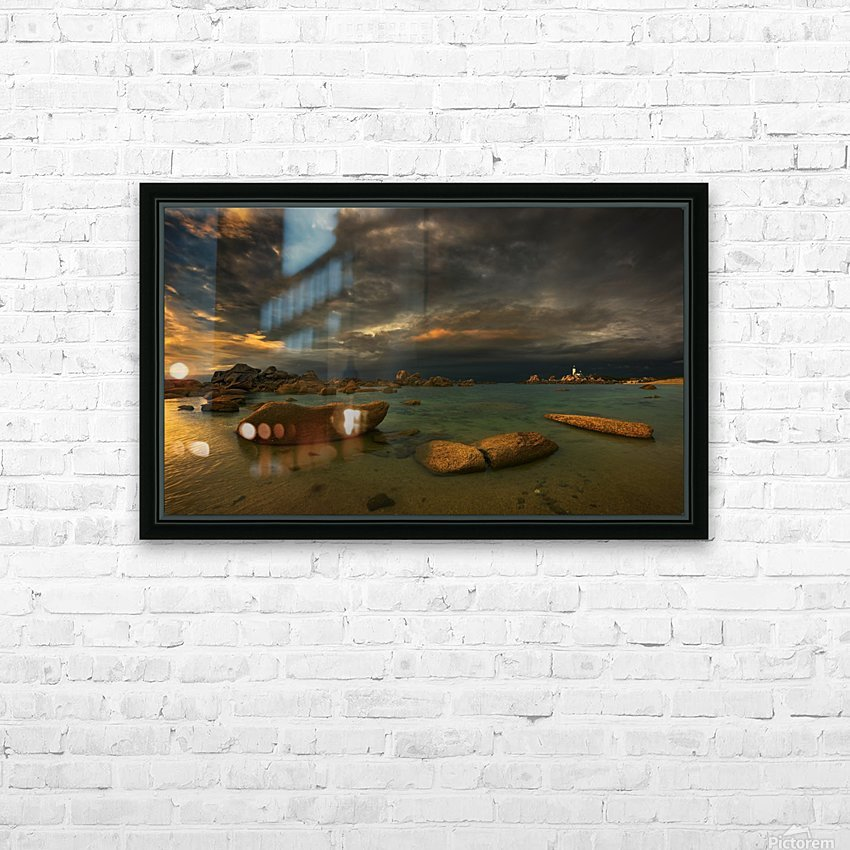 Pontusval... HD Sublimation Metal print with Decorating Float Frame (BOX)