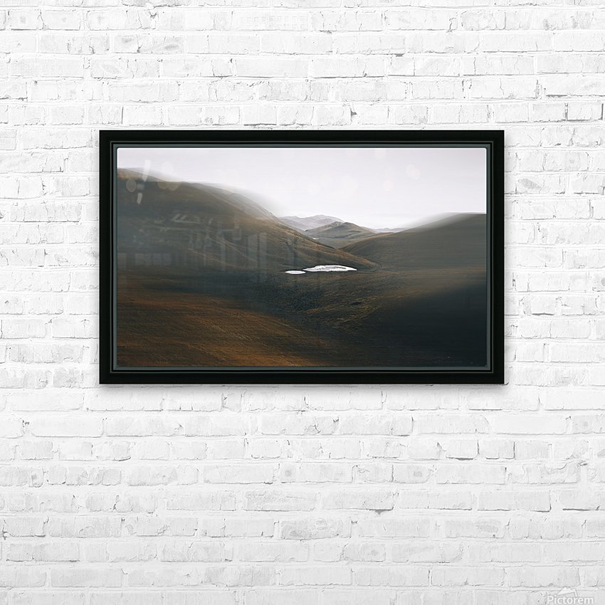 Quiet HD Sublimation Metal print with Decorating Float Frame (BOX)