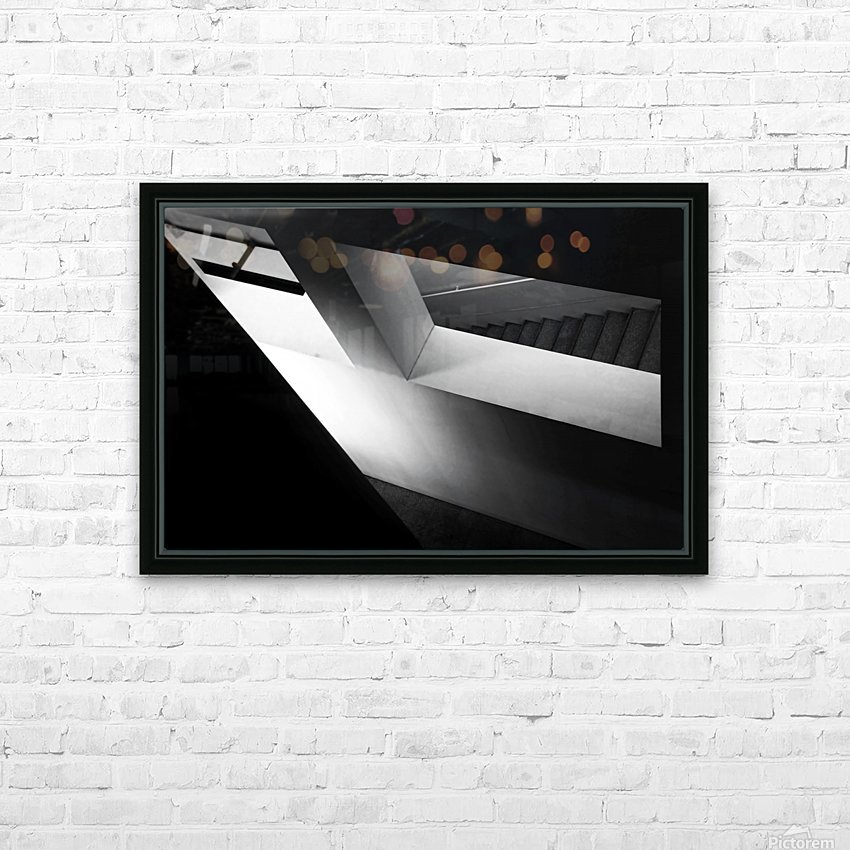 Light and shadow play HD Sublimation Metal print with Decorating Float Frame (BOX)
