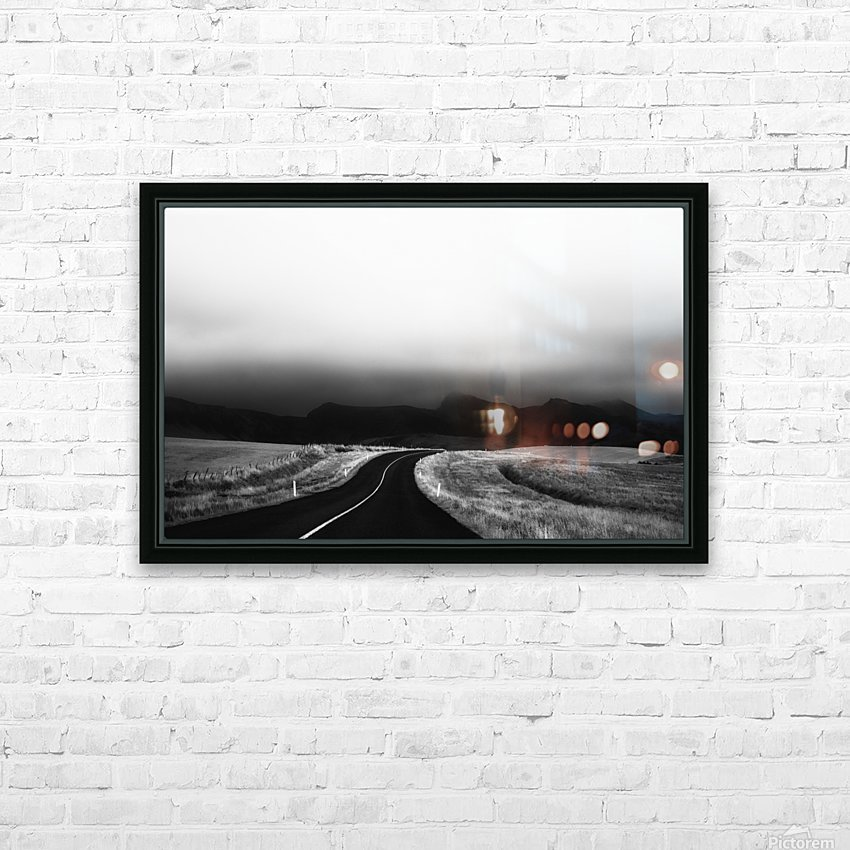 ways of the world HD Sublimation Metal print with Decorating Float Frame (BOX)