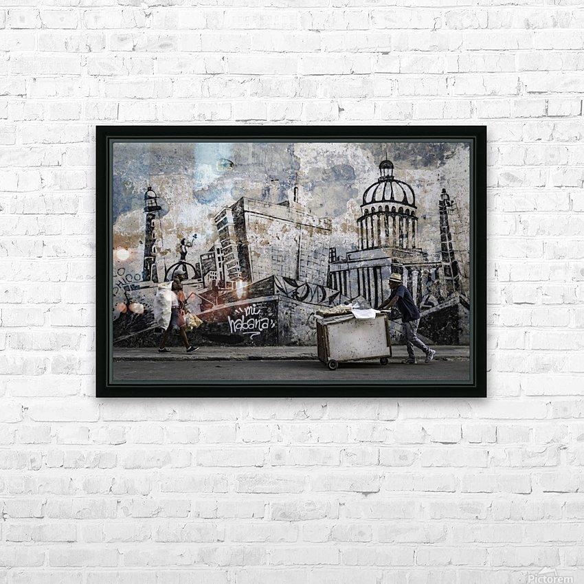 Mi Habana HD sublimation métal imprimé avec décoration flotteur cadre (boîte)