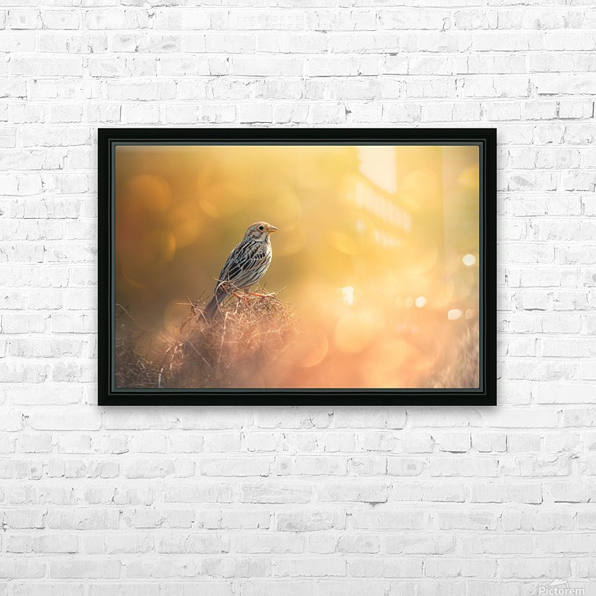 Lost in Bokeh HD Sublimation Metal print with Decorating Float Frame (BOX)