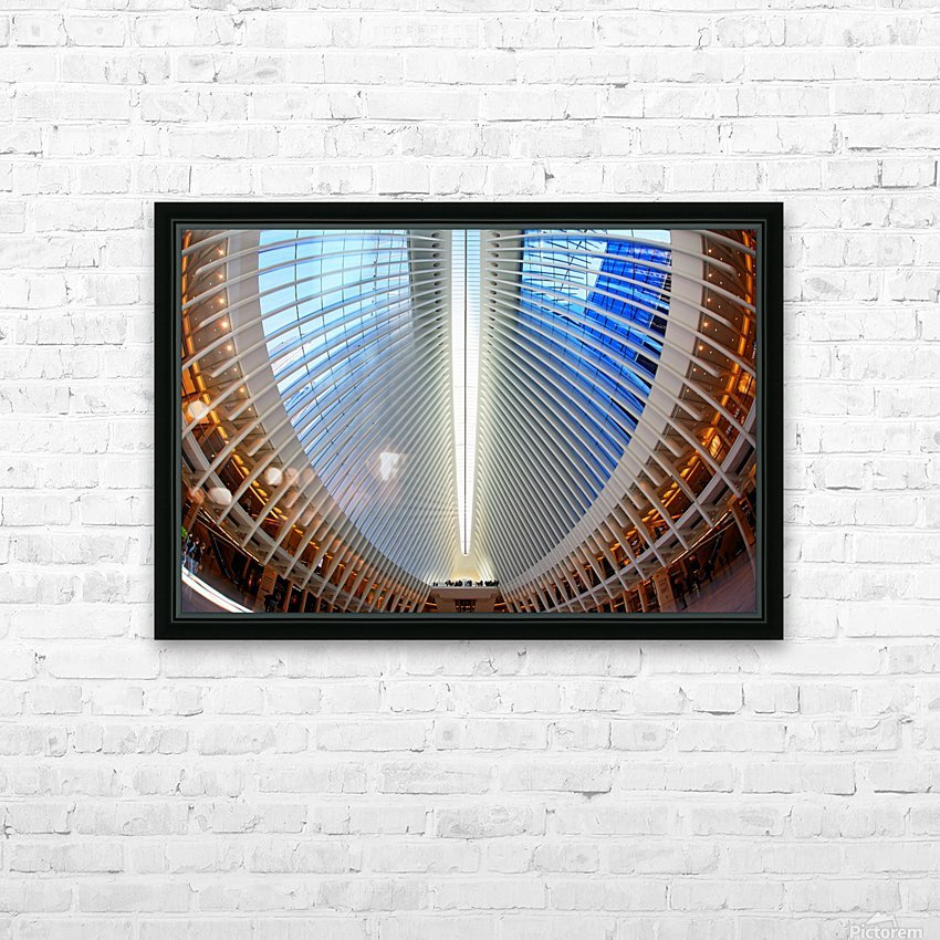 Oculus HD Sublimation Metal print with Decorating Float Frame (BOX)