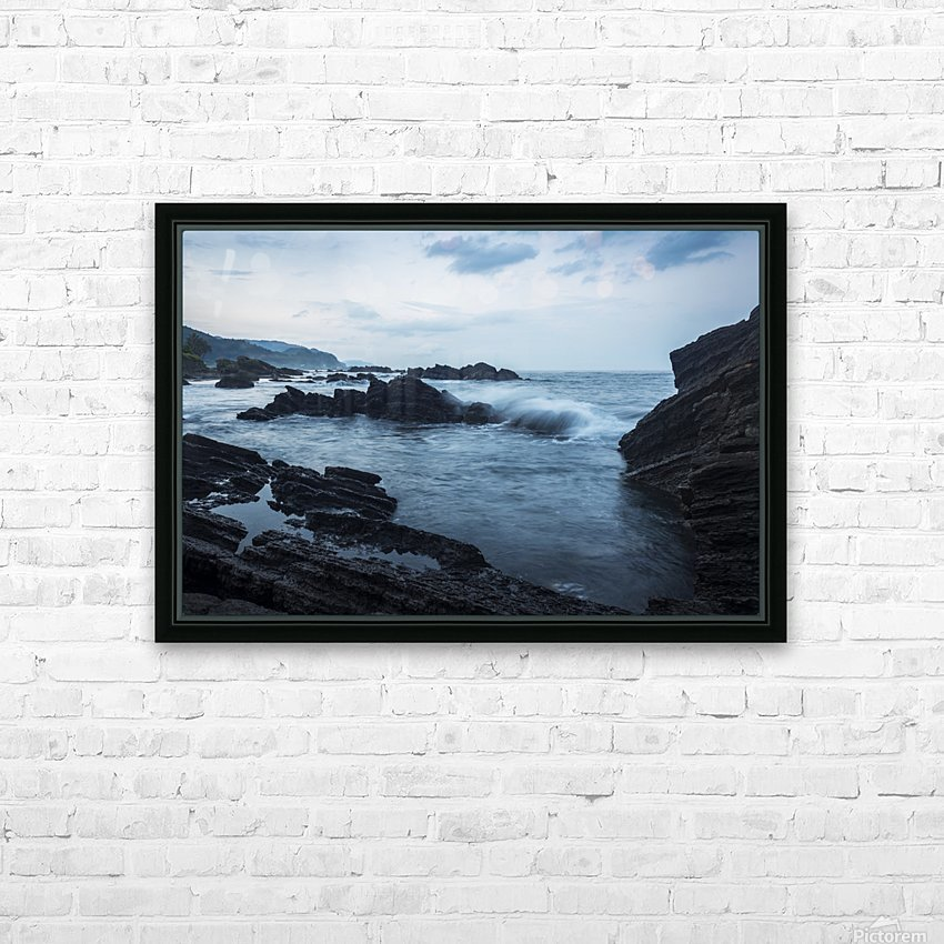Waiao beach in Yilan County, beautiful volcanic landscape; Taiwan, China HD Sublimation Metal print with Decorating Float Frame (BOX)