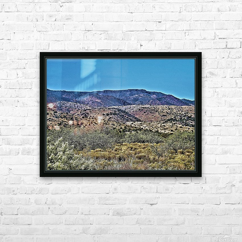 Jerome-1 HD Sublimation Metal print with Decorating Float Frame (BOX)