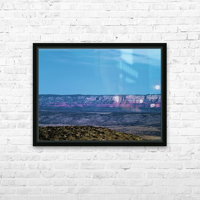 Jerome HD Sublimation Metal print with Decorating Float Frame (BOX)