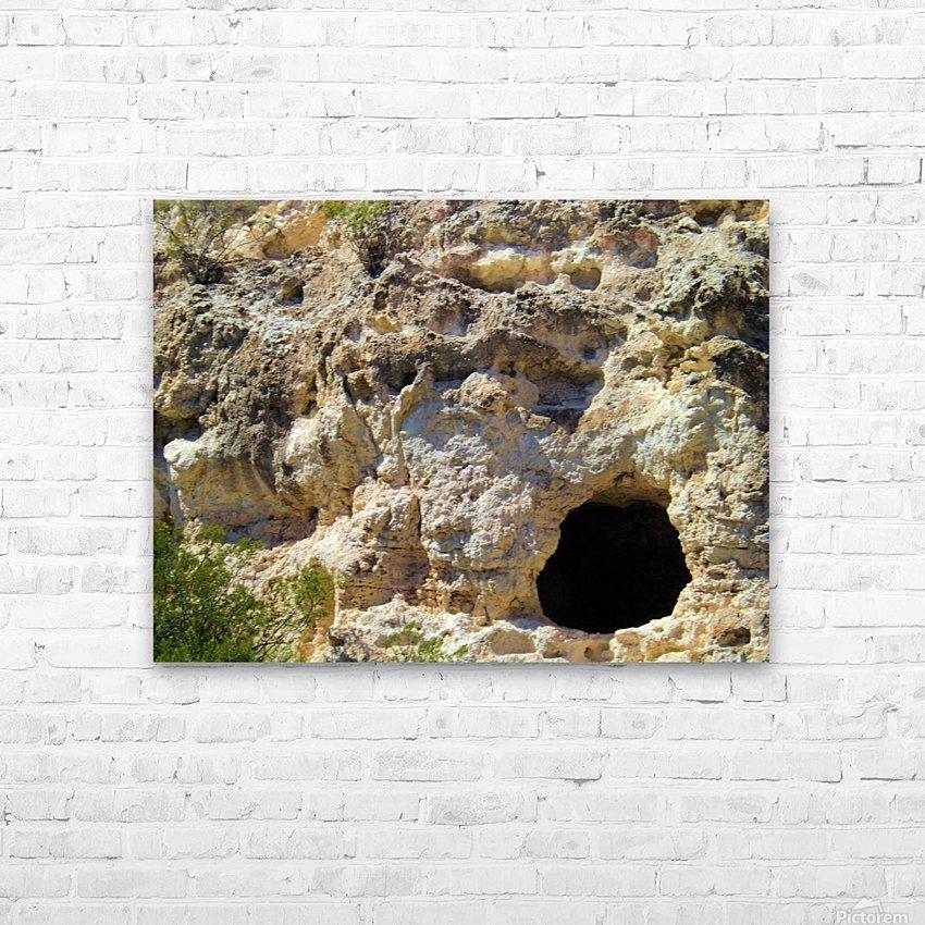 Montezuma's Castle-11 HD Sublimation Metal print with Decorating Float Frame (BOX)