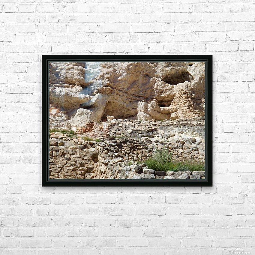 Montezuma's Castle-8 HD Sublimation Metal print with Decorating Float Frame (BOX)