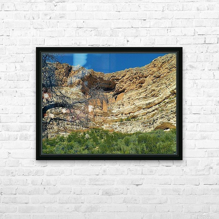 Montezuma's Castle-6 HD Sublimation Metal print with Decorating Float Frame (BOX)