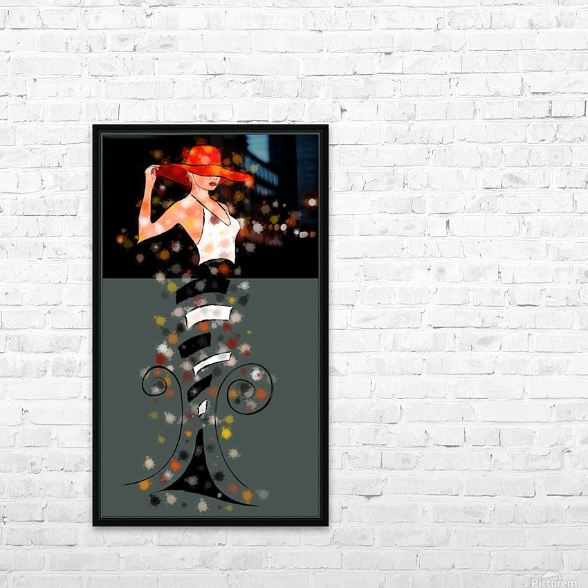 Estranella - summer flower HD Sublimation Metal print with Decorating Float Frame (BOX)