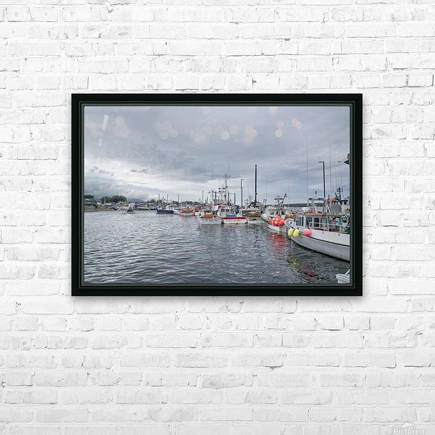 La Digue - Cheticamp HD Sublimation Metal print with Decorating Float Frame (BOX)