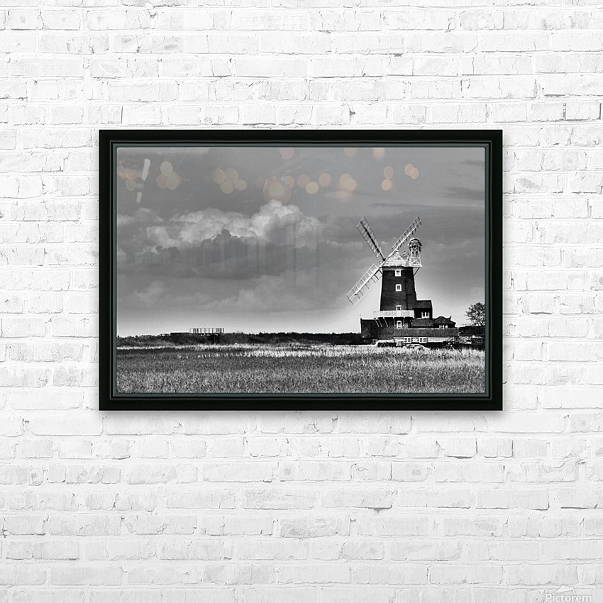Cloud blower HD Sublimation Metal print with Decorating Float Frame (BOX)
