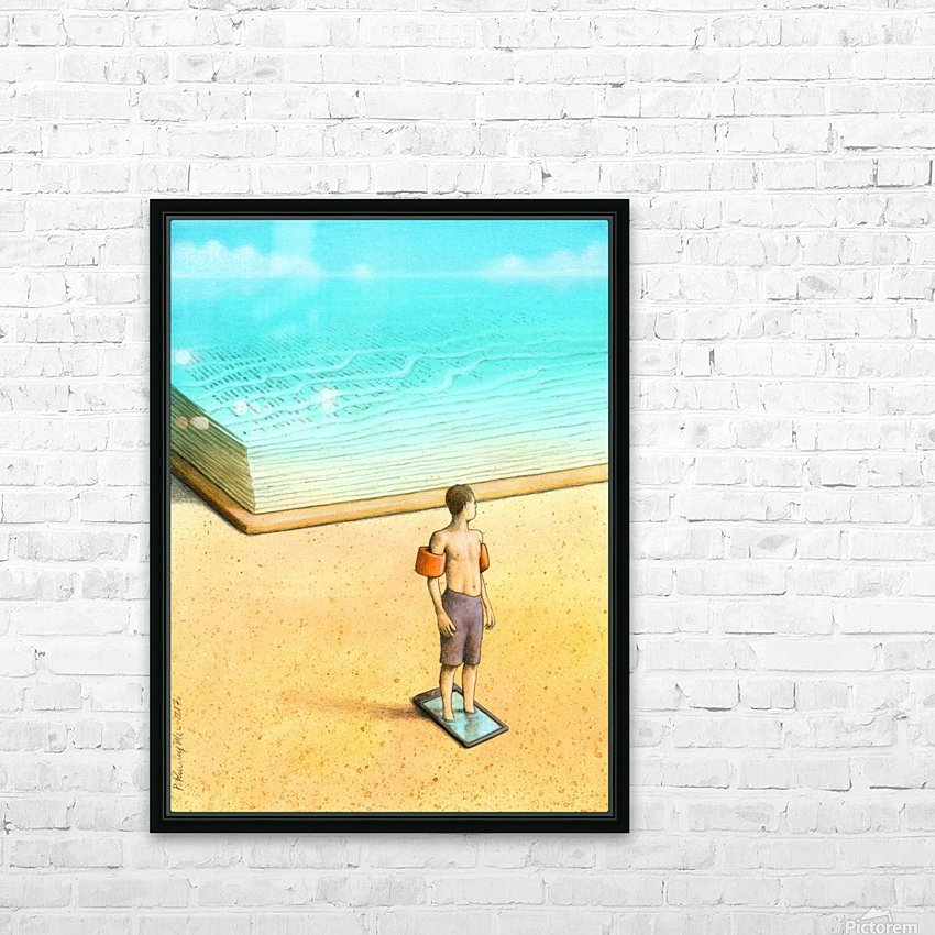 bath HD Sublimation Metal print with Decorating Float Frame (BOX)