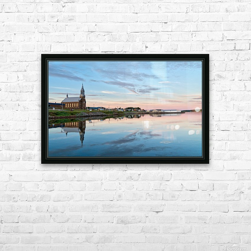 Brand New Day HD Sublimation Metal print with Decorating Float Frame (BOX)