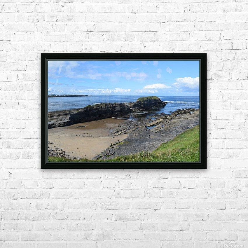 BUNDORAN, CO.DONEGAL HD Sublimation Metal print with Decorating Float Frame (BOX)