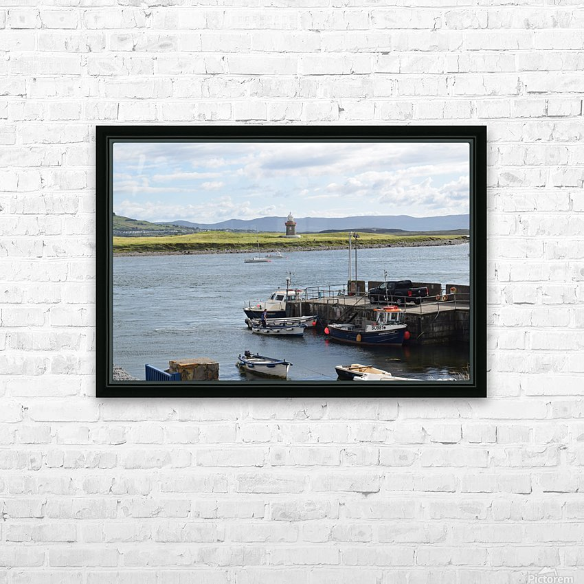 ROSSES POINT, SLIGO HD Sublimation Metal print with Decorating Float Frame (BOX)