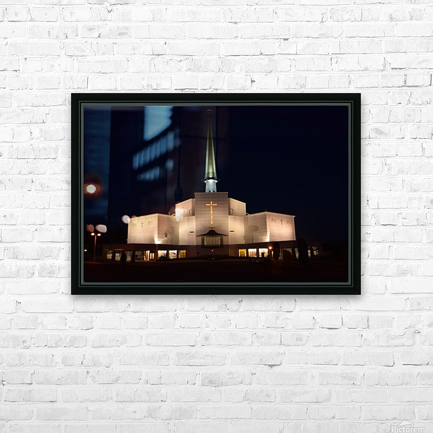KNOCK SHRINE, CO.MAYO HD Sublimation Metal print with Decorating Float Frame (BOX)