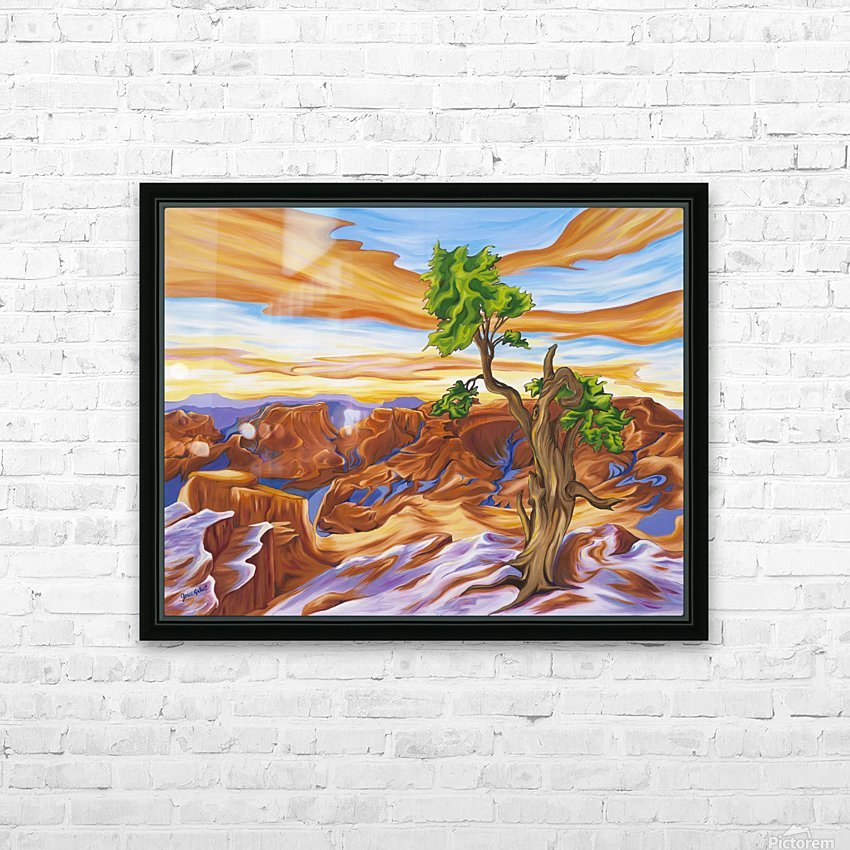 Sedona  HD Sublimation Metal print with Decorating Float Frame (BOX)