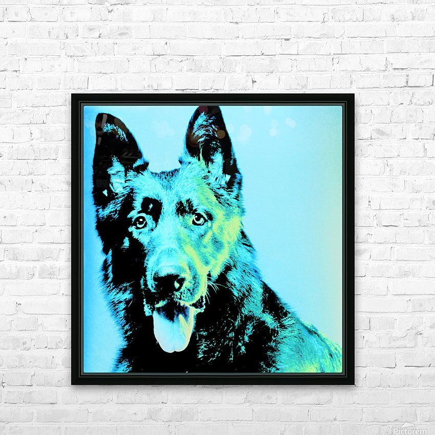 The Wild Moonlight HD Sublimation Metal print with Decorating Float Frame (BOX)