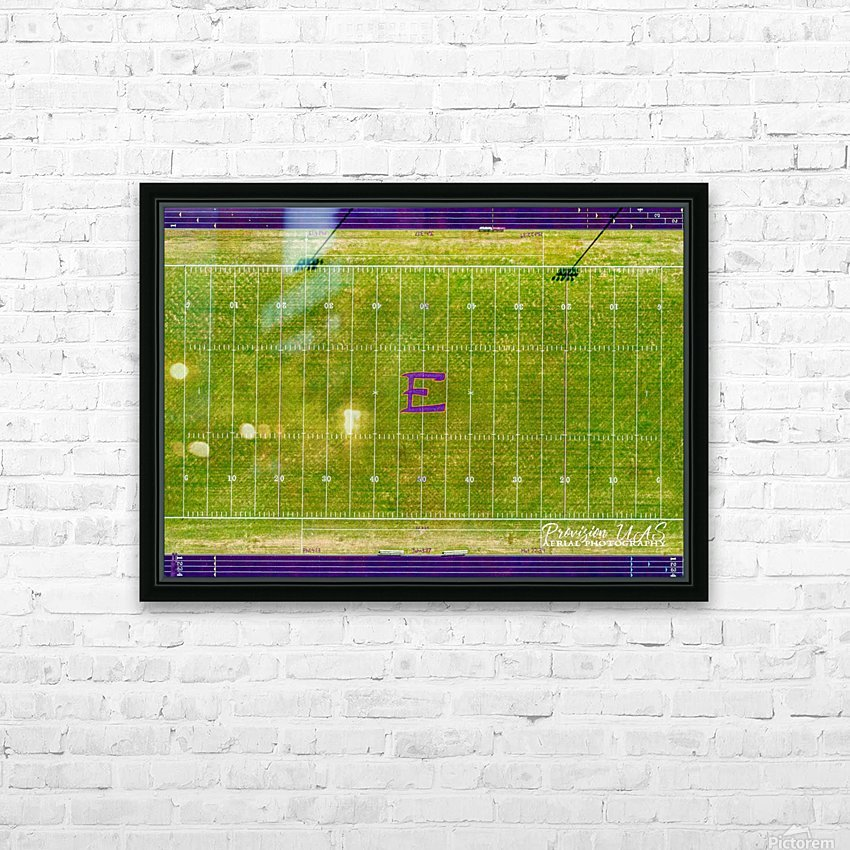 England, AR   Lions Football Field HD Sublimation Metal print with Decorating Float Frame (BOX)