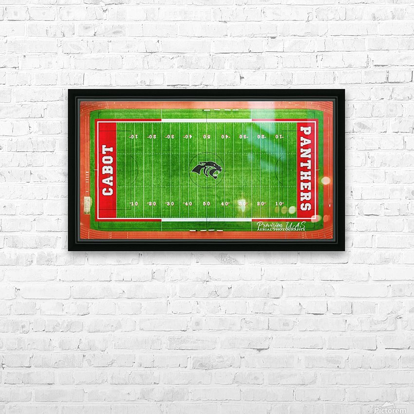 Cabot, AR   Panther Football Field HD Sublimation Metal print with Decorating Float Frame (BOX)