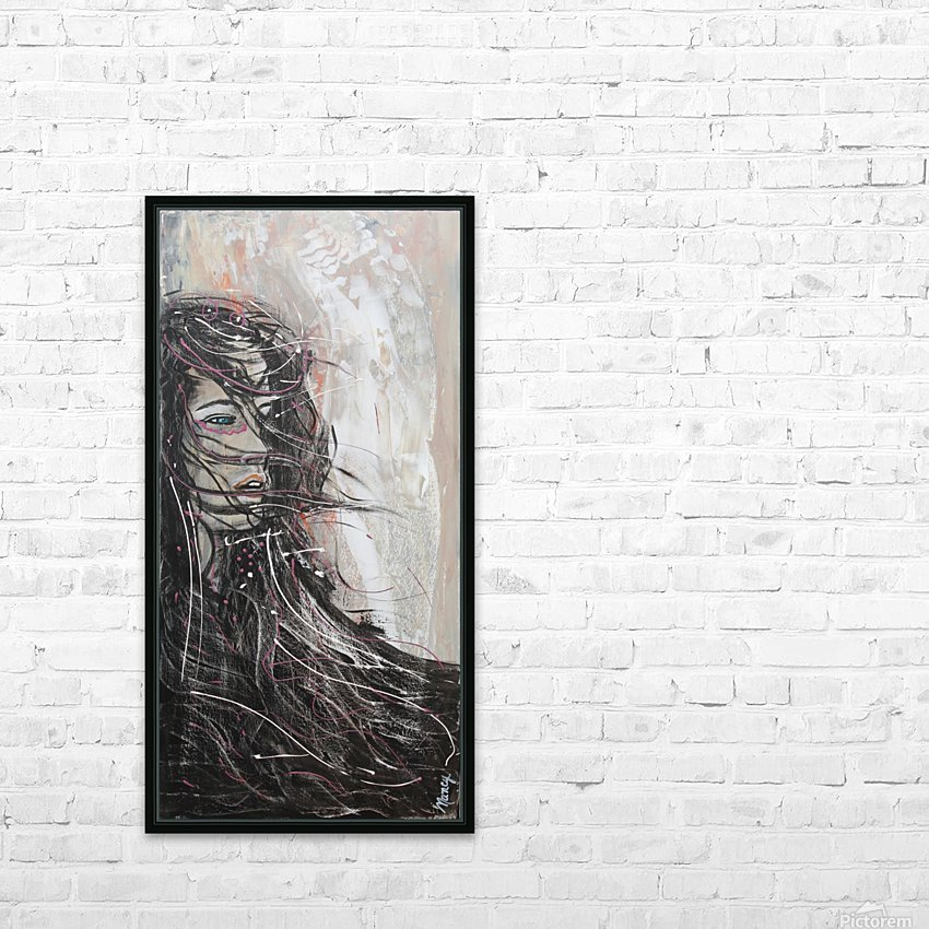 Le Vent HD Sublimation Metal print with Decorating Float Frame (BOX)