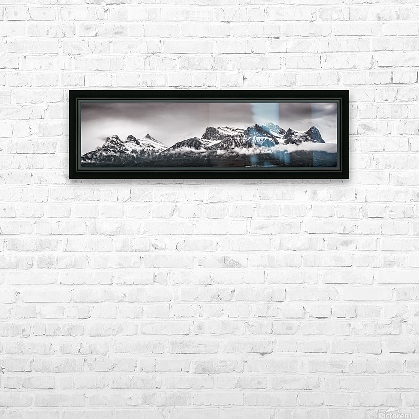 CanmoreWinter HD Sublimation Metal print with Decorating Float Frame (BOX)