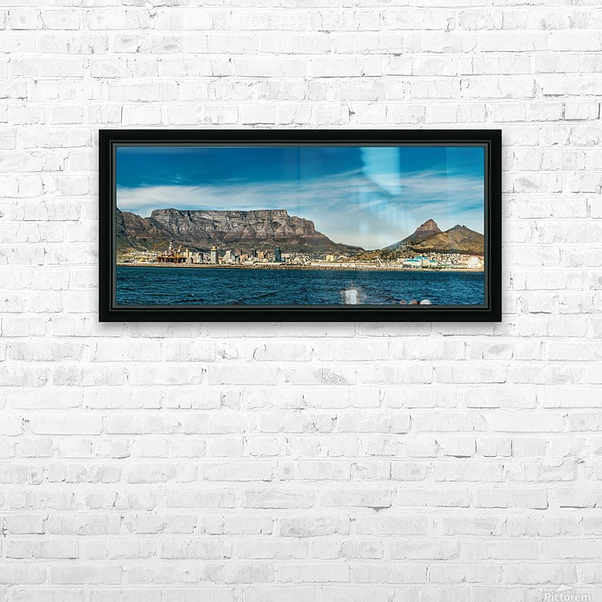 TableMtn_LionsHead HD Sublimation Metal print with Decorating Float Frame (BOX)
