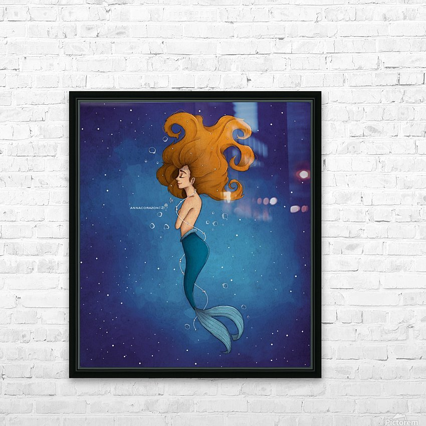 Aro_Mer HD Sublimation Metal print with Decorating Float Frame (BOX)