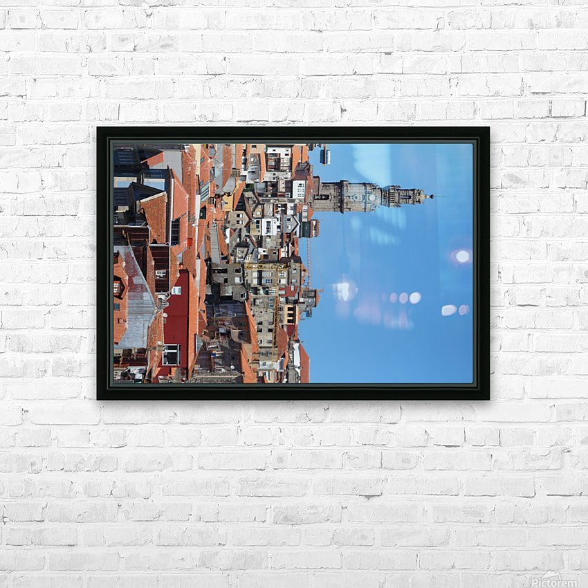 Oporto City the Clerigos Tower HD Sublimation Metal print with Decorating Float Frame (BOX)