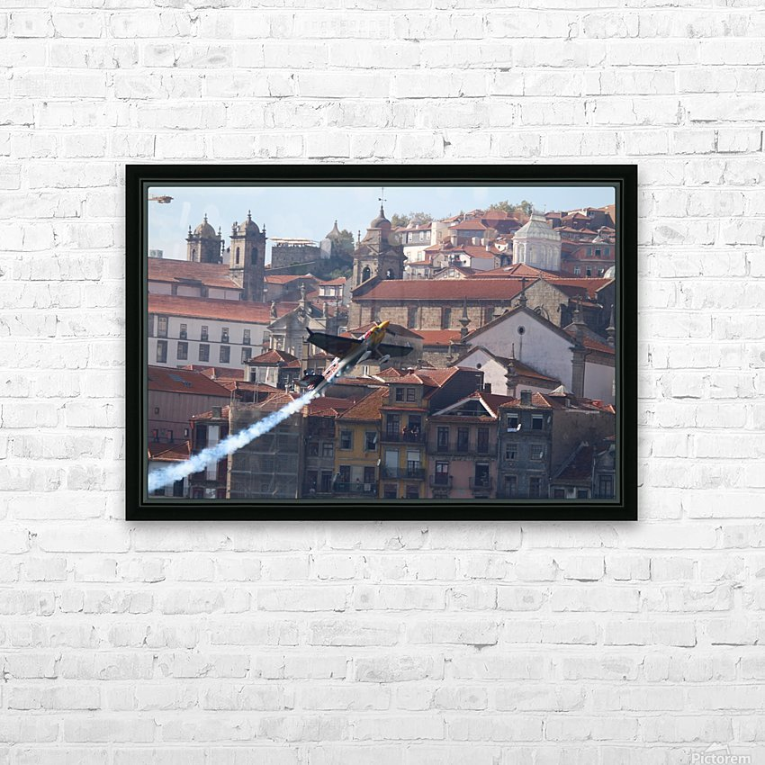 Oporto Red Bull Air Race 2017 HD Sublimation Metal print with Decorating Float Frame (BOX)