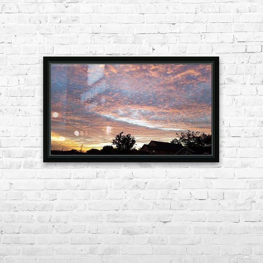 God's Masterpiece HD Sublimation Metal print with Decorating Float Frame (BOX)
