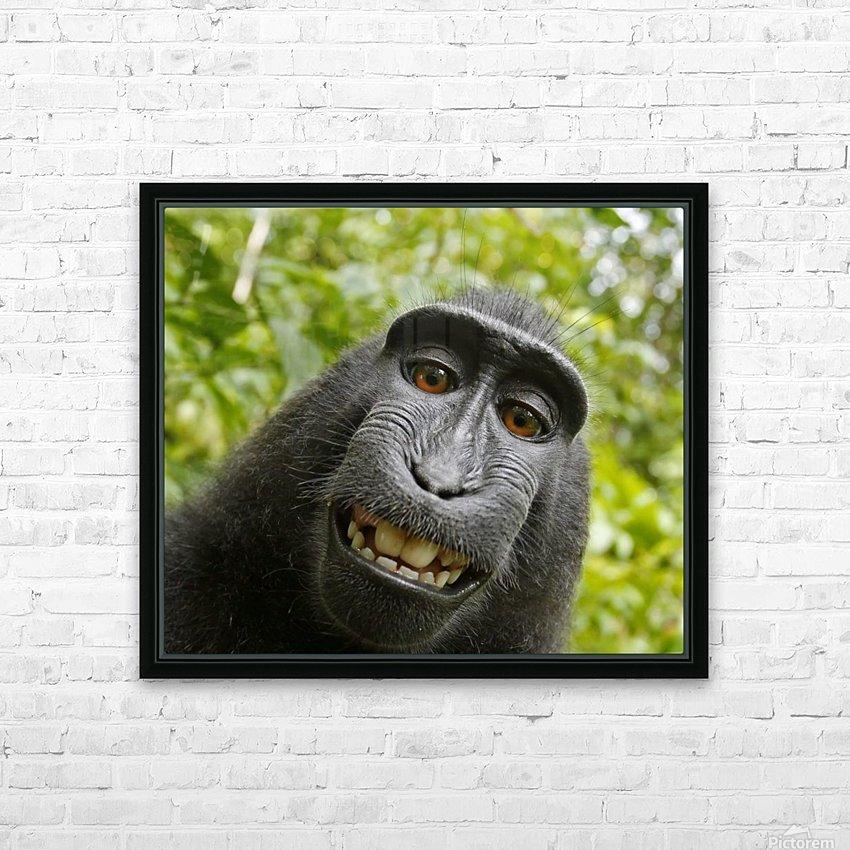 monyet HD sublimation métal imprimé avec décoration flotteur cadre (boîte)